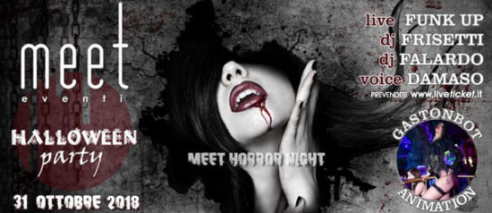 Halloween Party - Meet Horror Night al Meet Eventi di Atripalda
