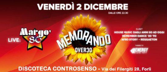 Memorando over 30 al Controsenso di Forlì