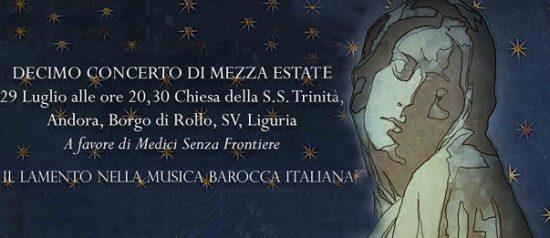 Decimo Concerto di Mezza Estate alla Chiesa della Santissima Trinità a Rollo