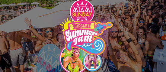 Miami Sunday by Targamy al Cala Felice Beach Club di Scarlino
