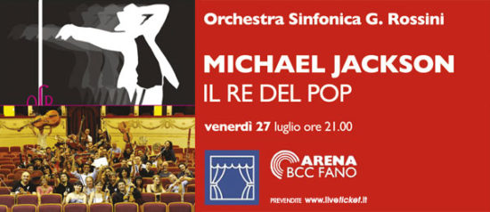 Michael Jackson, il re del pop all'Arena BCC a Fano