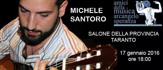Michele Santoro al Salone della Provincia di Taranto
