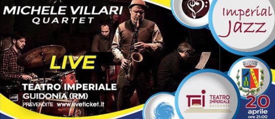 Michele Villari in quartetto al Teatro Imperiale di Guidonia
