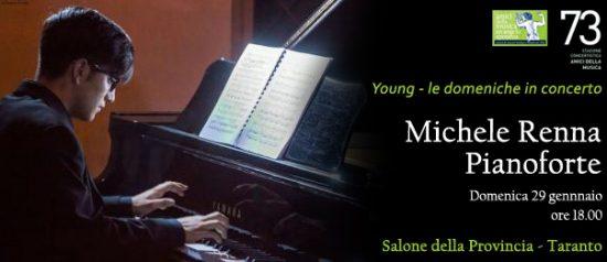 Michele Renna - Pianoforte al Salone della Provincia di Taranto