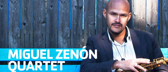 Miguel Zenon quartet al Festival Jazz on the Road