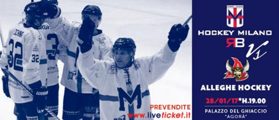 HC Milano Milano Rossoblu vs Alleghe Hockey