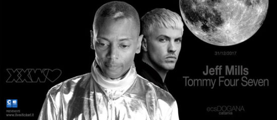 Jeff Mills at With Love NYE + Tommy Four Seven al ECS Dogana Club a Catania