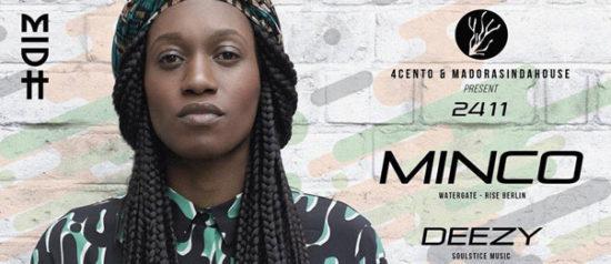 Minco + Deezy al Ristorante 4cento di Milano