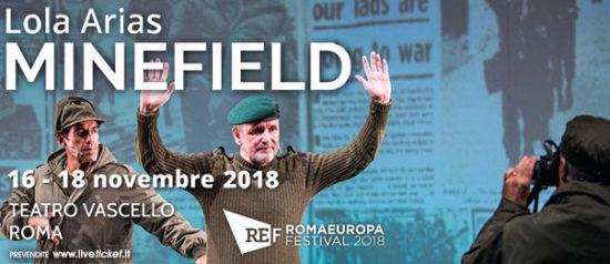 "Romaeuropa Festival 2018 – Lola Arias ""Minefield"" al Teatro Vascello a Roma"