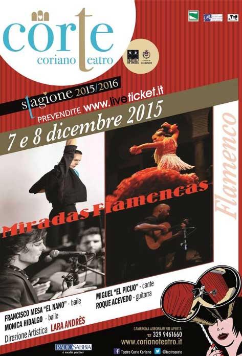 Miradas Flamencas al Teatro CorTe di Coriano