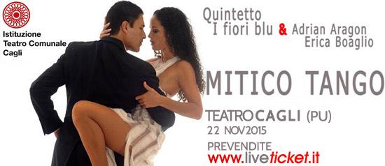 """Pasiones Company in """"Mitico Tango"""" al Teatro di Cagli"""