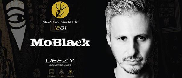 MoBlack + Deezy al Ristorante 4cento di Milano