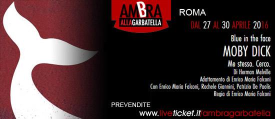 Moby Dick al Teatro Ambra alla Garbatella di Roma
