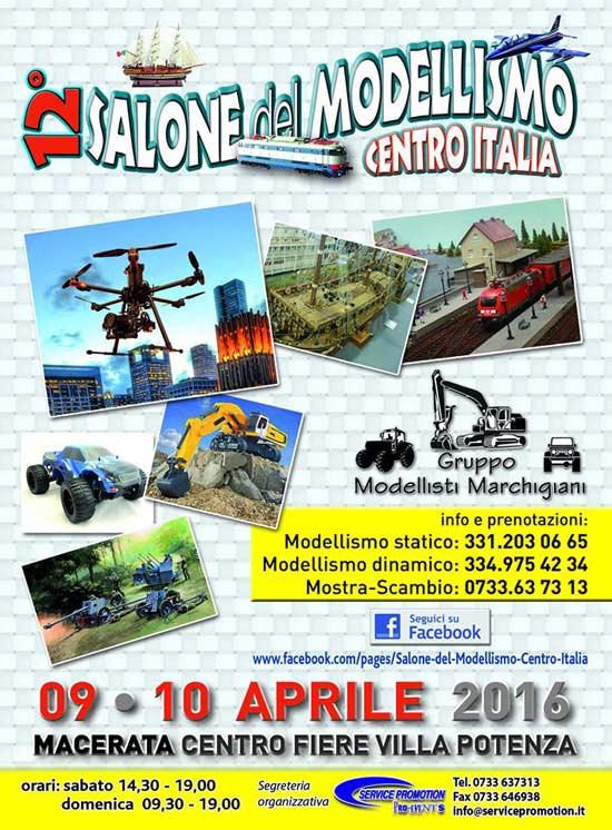 """12^ Salone del Modellismo """"Centro Italia"""""""
