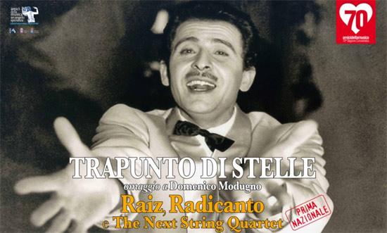 Trapunto di Stell Omaggio a Domenico Modugno al Teatro TaTà di Taranto