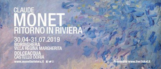 """""""Monet. Ritorno in Riviera"""" a Bordighera e Dolceacqua"""