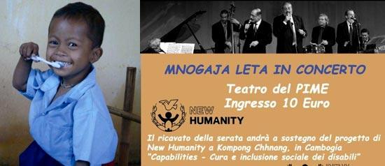 Concerto dei Mnogaja Leta Quartet al Teatro Pime di Milano