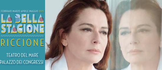 """Monica Guerritore """"Qualcosa rimane"""" al Teatro del Mare di Riccione"""
