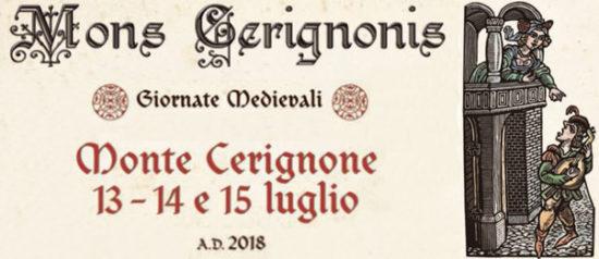 Mons Cerignonis 2018 Giornate Medievali a Monte Cerignone