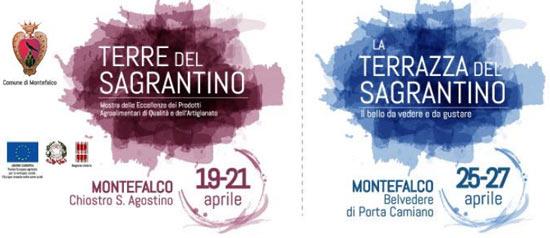 Terre del Sagrantino e la Terrazza del Sagrantino nel Centro Storico di Montefalco