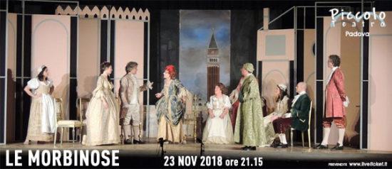 Le Morbinose al Piccolo Teatro di Padova