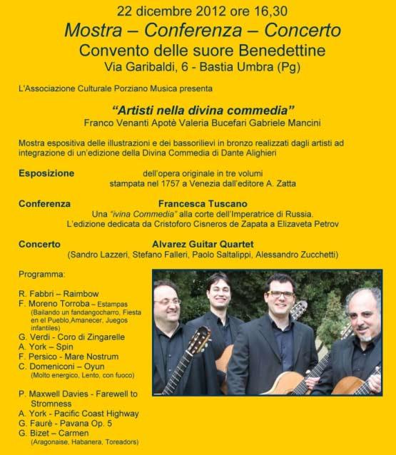 Artisti nella Divina Commedia, a Bastia Umbra
