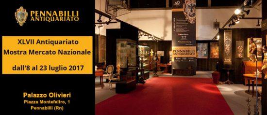 Antiquariato - Mostra Mercato Nazionale d'Antiquariato 2017 al Palazzo Olivieri a Pennabilli