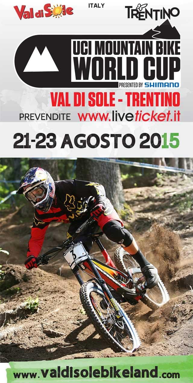 Finali di Coppa del Mondo di MOUNTAIN BIKE in Val di Sole Trentino