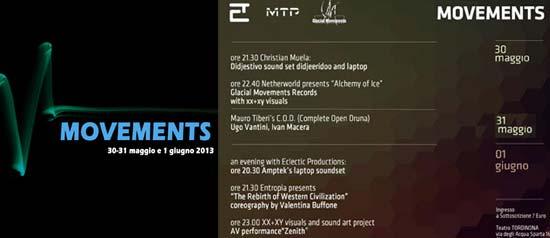 Movements al Teatro Tordinona di Roma