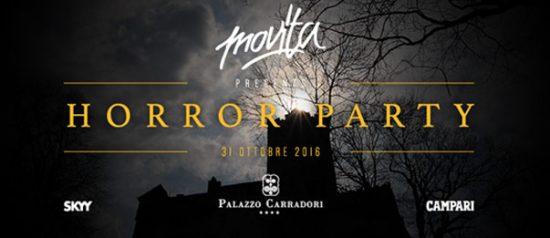 Movita Horror Party a Palazzo Carradori di Montefano