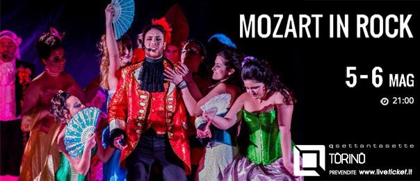 Mozart in rock al Q77 di Torino