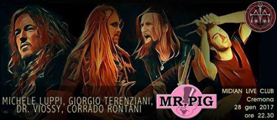 Mr. Pig - Michele Luppi al Midian Live Pub di Cremona
