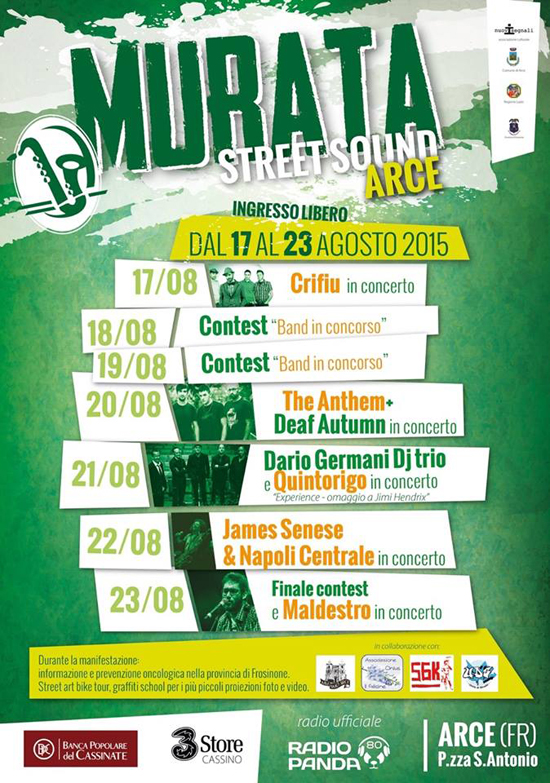 Murata Street Sound Festival ad Arce