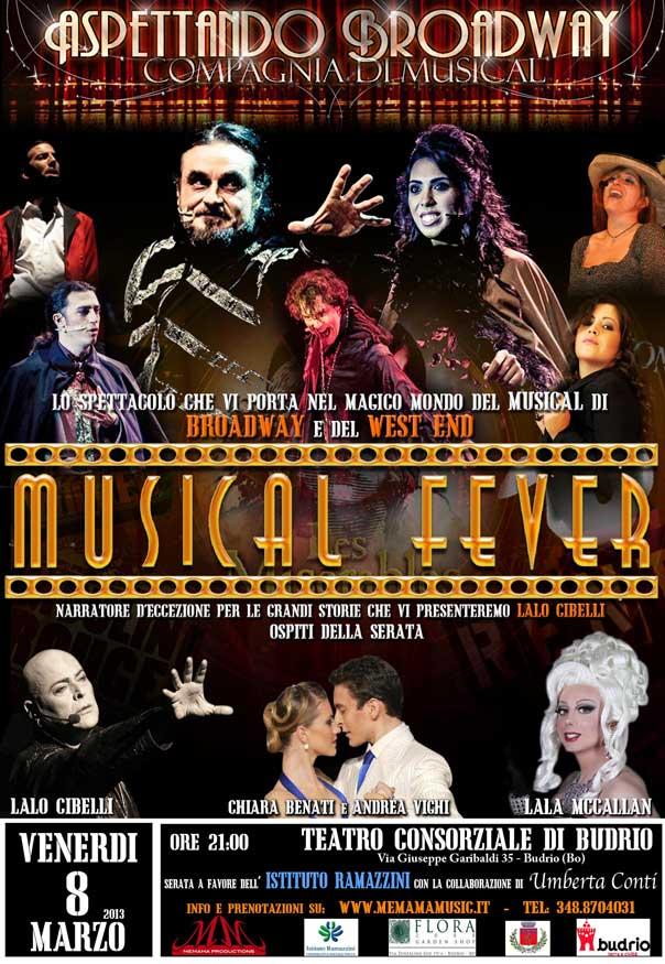 """Musical Fever"" al Teatro Consorziale di Budrio"