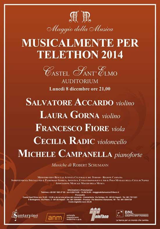 Musicalmente per Telethon 2014