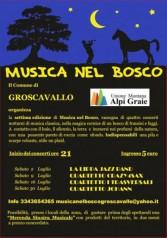 Musica nel Bosco a Groscavallo 7^ Edizione