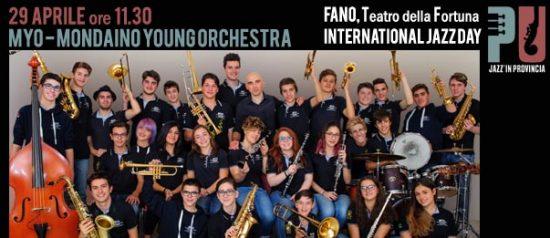 Jazz'in provincia Myo – Mondaino Young Orchestra al Teatro Della Fortuna a Fano