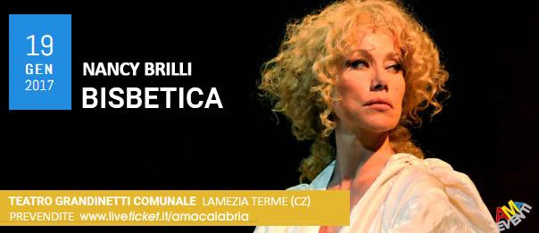 """Nancy Brilli """"Bisbetica"""" al Teatro Comunale Grandinetti di Lamezia Terme"""