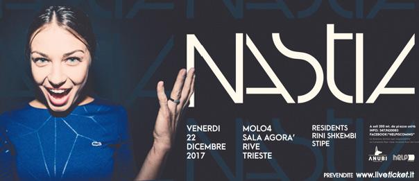 Helpiscoming with Nastia al Molo 4 a Trieste