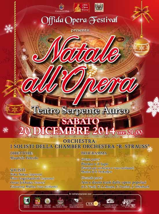 """Natale all'Opera con """"Pierino e il lupo"""" al Teatro Serpente Aureo di Offida"""