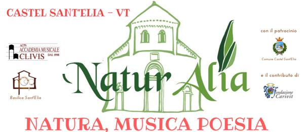 """""""Naturalia - Natura, Musica e Poesia"""" alla Basilica di Castel Sant'Elia"""