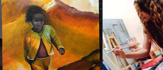 La donna nell'arte di Capo Verde al Centrum Sete Sis Sete Luas di Pontedera