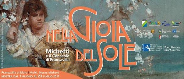 """""""Nella gioia del sole, Michetti e il Cenacolo di Francavilla"""" al Mu.Mi. di Francavilla al Mare"""