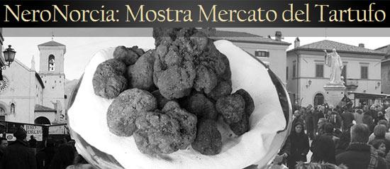 Nero Norcia 50ª Mostra Mercato Nazionale Tartufo Nero Pregiato