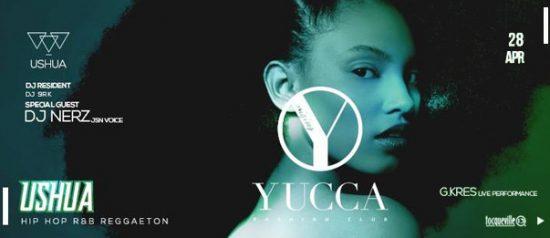 Ushua w/ dj Nerz & G Kres a Yucca Fashion Club di Rescaldina