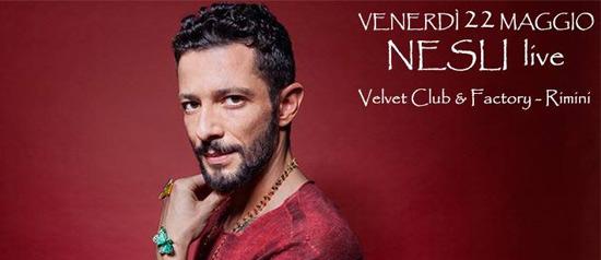 "Nesli ""Andrà tutto bene tour 2015"" al Velvet di Rimini"