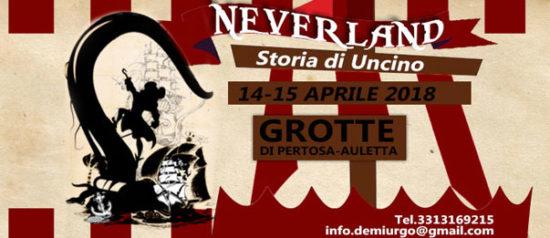 Neverland - Storia di Capitan Uncino alle Grotte di Pertosa-Auletta a Pertosa