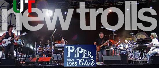 UT New Trolls al Piper Club di Viareggio