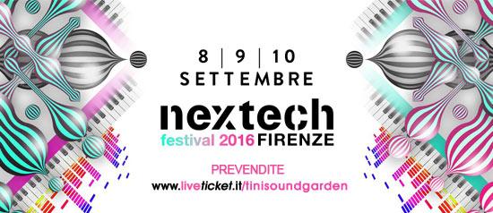 Nextech Festival 2016 a Firenze