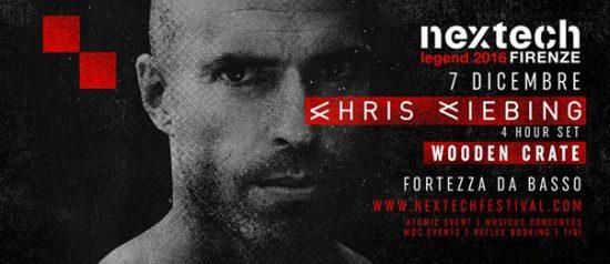 Nextech Legend: Chris Liebing (Extended Set) alla Fortezza da Basso di Firenze